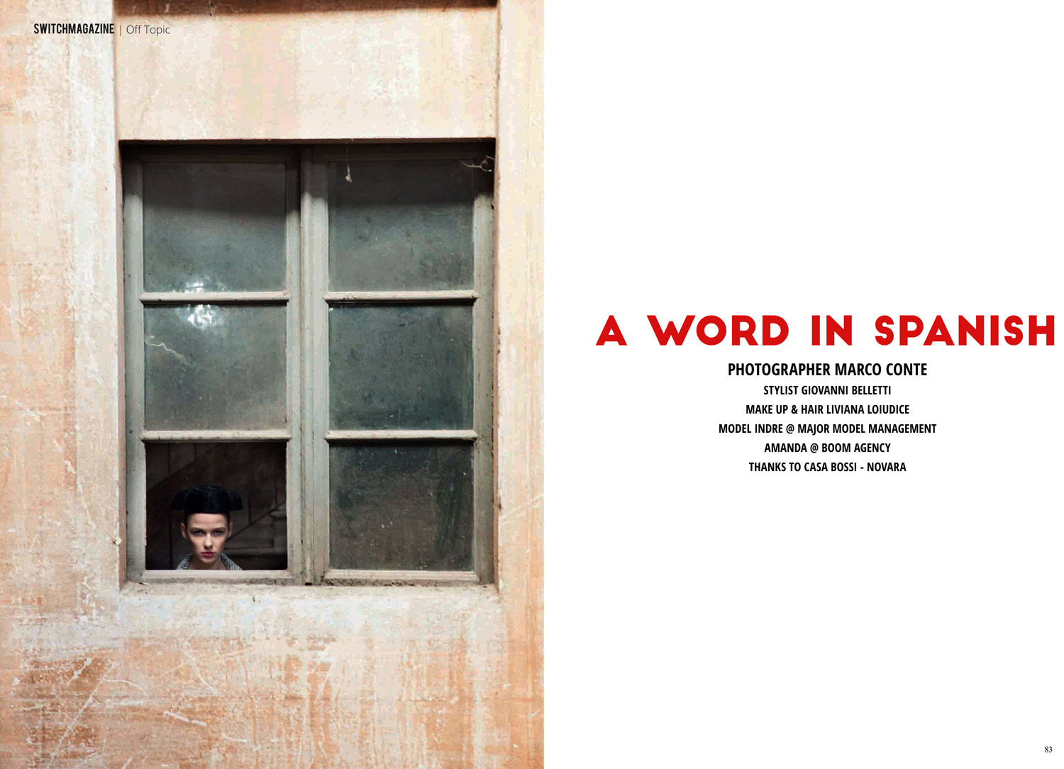 A WORLD IN SPANISH by Marco Conte
