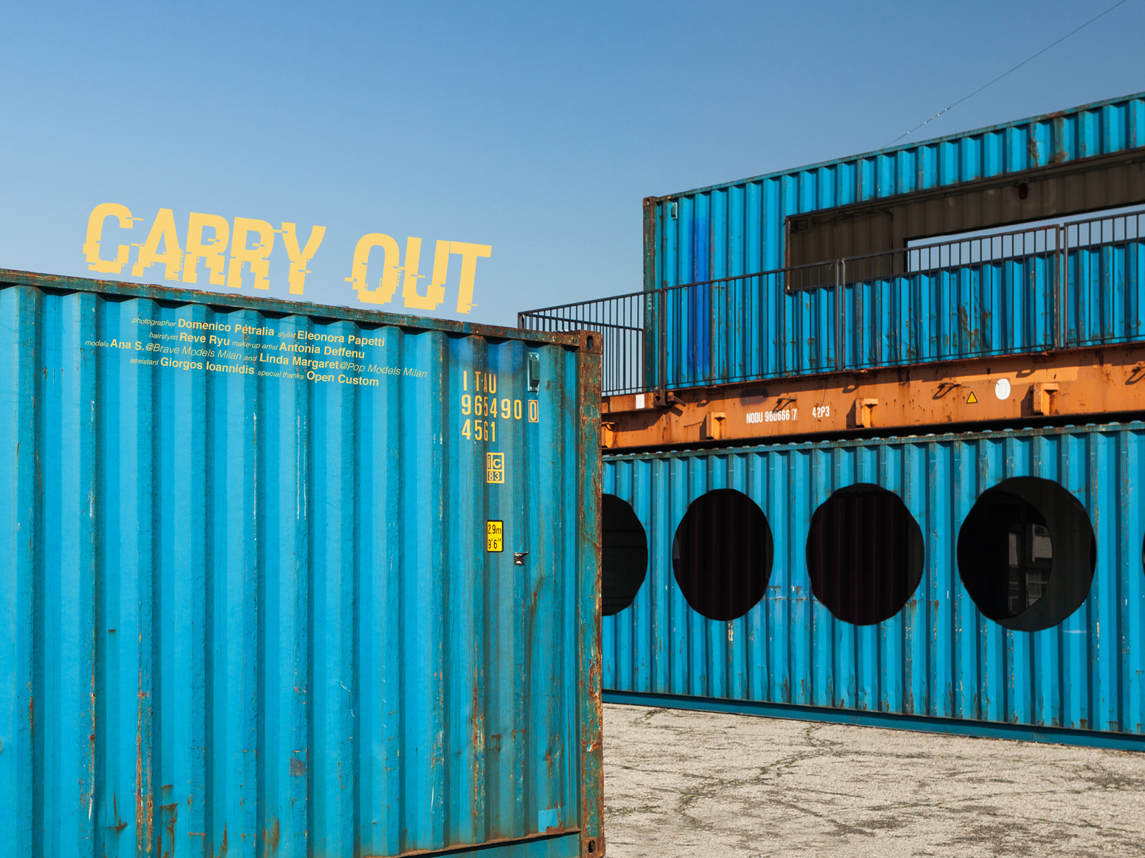CARRY OUT by Domenico Petralia